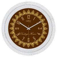 Cadran Luxury Dekoratif Çatlak Desen Duvar Saati-37