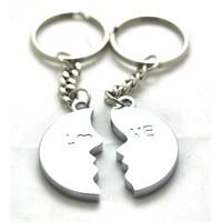 Özel kutulu 2'li Love (He-She) Mıknatıslı Çelik Anahtarlık