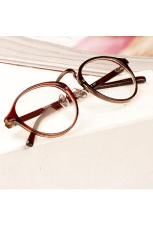 Köstebek Retro Kahverengi Çerçeveli Gözlük Kgz074