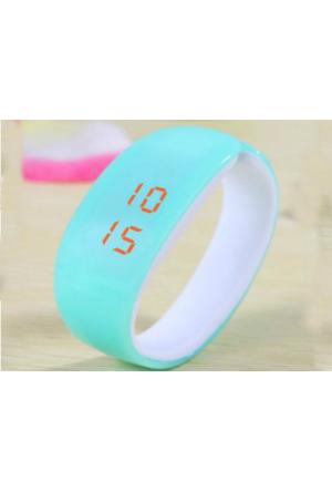 Toptancı Kapında New Fashion Led Bileklik Kol Saati (Mavi)