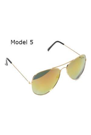 Toptancı Kapında Unisex Della Pianto Aynalı Güneş Gözlükleri - Model - 5