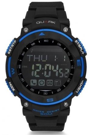Quark Fonksiyonel Dijital Qu-14648-B Akıllı Kol Saati Smartwatch