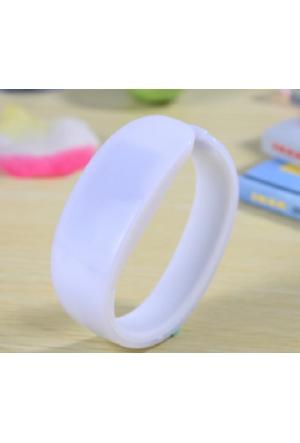 Original Boutique Kol Saati Yeni Trend Plastik (Beyaz)