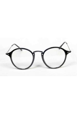 Moda Roma Retro Siyah Gözlük
