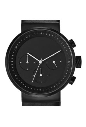 Projects Watches Kiura Black Leather Kol Saati