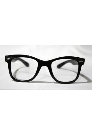 Modaroma Siyah Çerçeve Stil Gözlük