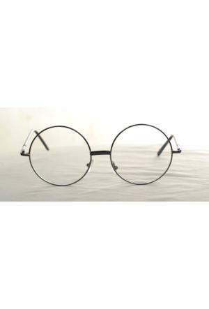 Modaroma Harry Potter Yuvarlak Gözlük Gümüş K