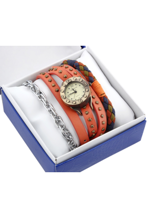 Geneva Ap 1835 Kadın Kol Saati Ve Bileklik Kombin