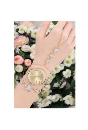 Clariss Metal Kadın Saat & Bileklik