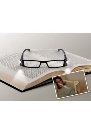 Wildlebend Led Işıklı Kitap Okuma Gözlüğü