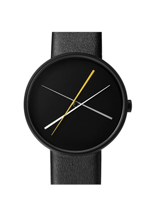 Projects Watches Crossover Black Leather Unisex Kol Saati