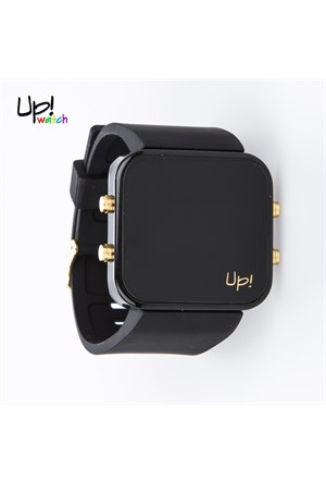 Up Watch Saat Led Gold Edition Black