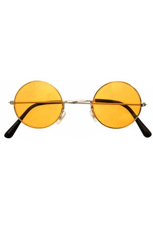 Köstebek John Lennon Gözlük Sarı