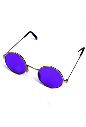 Köstebek John Lennon Gözlük Mor