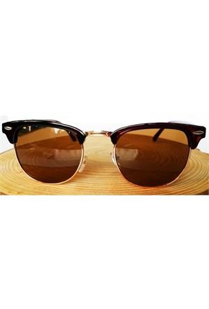 Köstebek Kahverengi Çerçeveli Güneş Gözlüğü