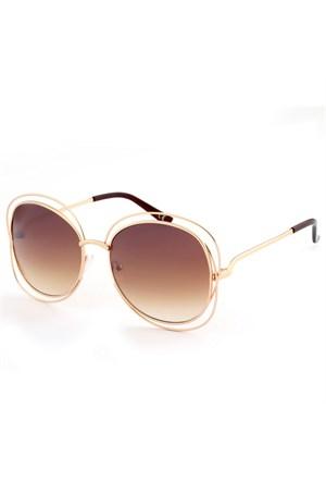 Almera Yeni Sezon Trend Moda Kahve Güneş Gözlüğü 36950