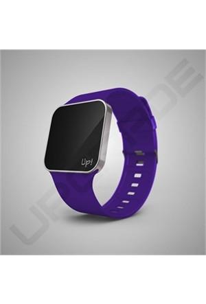 Upgrade Silver & Purple Kol Saati