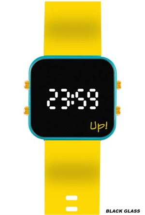 Upwatch Gturquoise&Yellow Kol Saati