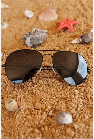 Morvizyon Clariss Marka Siyah Çerçeve Tasarımlı Erkek Güneş Gözlük Modeli