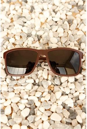 Morvizyon Clariss Marka Çerçeve Tasarımlı Siyah Cam Unisex Güneş Gözlük Modeli