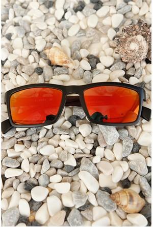 Morvizyon Clariss Marka Siyah Mat Çerçeve Tasarımlı Renkli Cam Güneş Gözlük Modeli