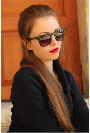 Morvizyon Clariss Marka Siyah Kare Çerçeve Bayan Gözlük