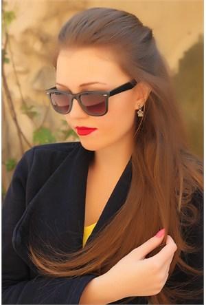 Morvizyon Clariss Marka Kare Çerçeve Mat Tasarımlı Bayan Gözlük