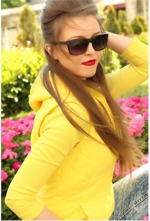 Morvizyon Clariss Marka Yeni Sezon Siyah Mat Tasarımlı Bayan Gözlük