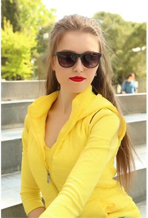 Morvizyon Clariss Marka Siyah Geniş Çerçeveli Bayan Gözlük