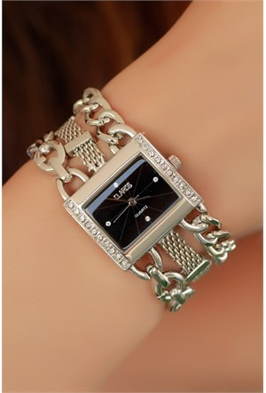 Morvizyon Clariss Marka Kare Kasa Tasarımlı Bayan Saat