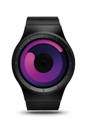 Ziiiro Mercury Black-Purple Unisex Kol Saati