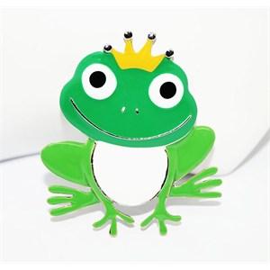 cadının dükkanı kurbağa prens rozet