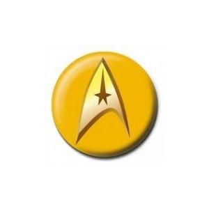 rozet - star trek - insignia - gold