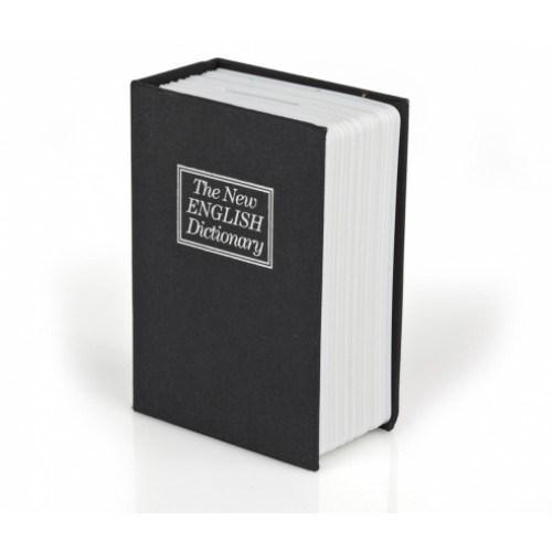 BuldumBuldum Kitap Görünümünde Anahtarlı Kumbara - Lacivert