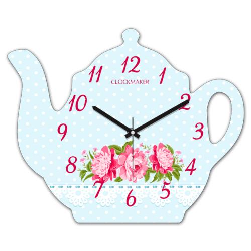 Clockmaker By Cadran 30x25 MDF Demlik Duvar Saati CMM214