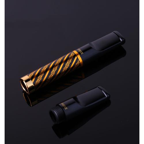 Zobo Siyah Çelik,Plastik Normal Sigara Ağızlığı, Ağızlık de26