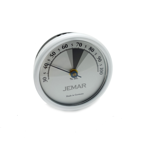 Jemar Gri Renk Hygrometer Manuel Nem ölçer Saati hs40
