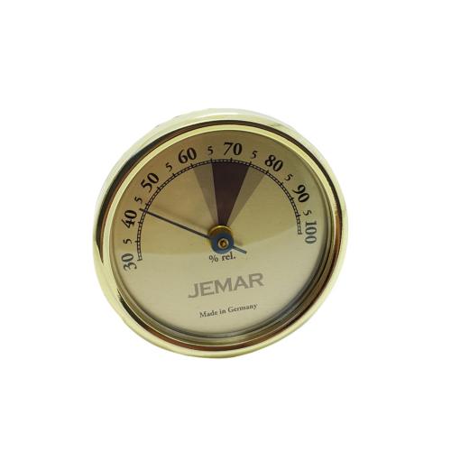 Jemar Sarı Renk Hygrometer Manuel Nem ölçer Saati hs41