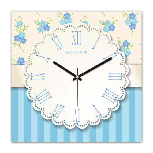 Clockmaker 30x30 Mdf Duvar Saati CMM265