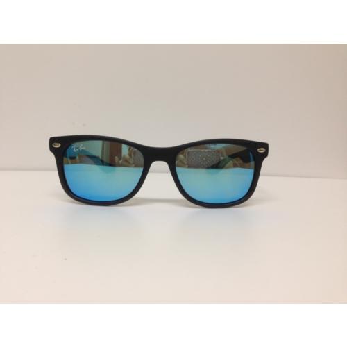 Ray-Ban Rj9052S 100S/55 48 16 130 Mavi Aynalı Çocuk Güneş Gözlüğü