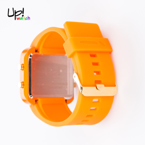 Up Watch Saat Led Gold Edition Orange