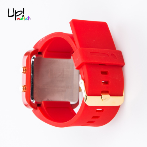 Up Watch Saat Led Gold Edition Red