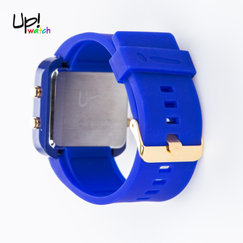 Up Watch Saat Led Gold Edition Blue