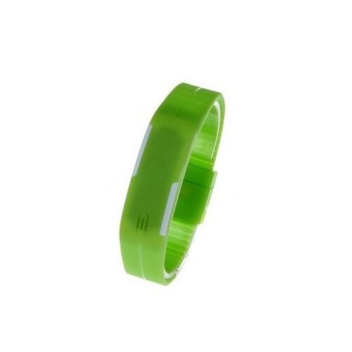 Qb Dijital Unisex Kol Saati Yeşil