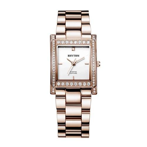 Rhythm L1204s04 Kadın Pırlantalı Kol Saati