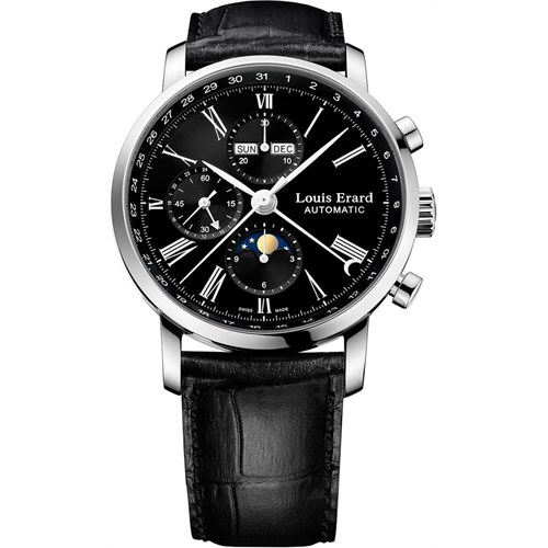 Louis Erard 80231Aa02 Erkek Kol Saati