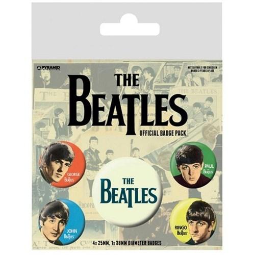 Pyramid International Rozet Seti - The Beatles Band