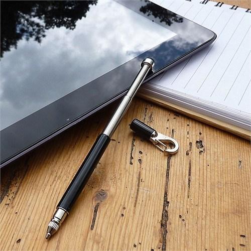 True Utility Styluspen Anahtarlık Kalem Siyah