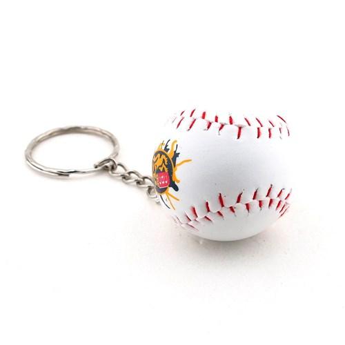 Solfera Beyzbol Topu Şeklinde Deri Anahtarlık Spor Kc451
