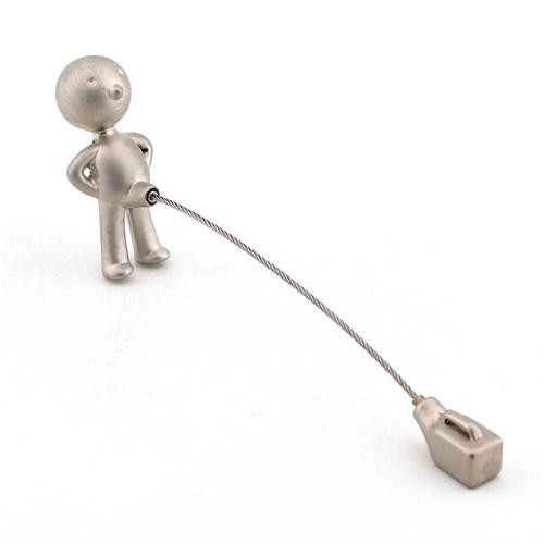 Solfera Solfera Mr. P İşeyen Çocuk Metal Anahtarlık Çelik Halatlı Kc452